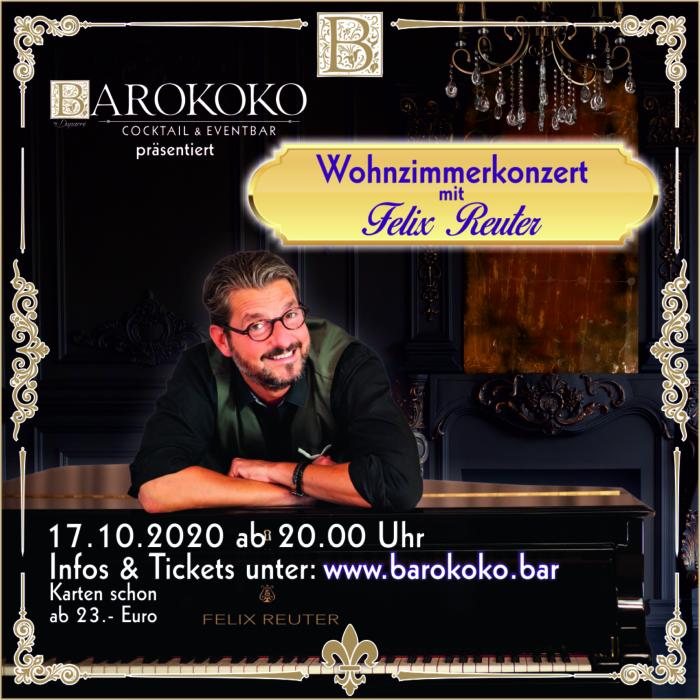 Wohnzimmerkonzert mit Felix Reuter im BARokoko in Gotha