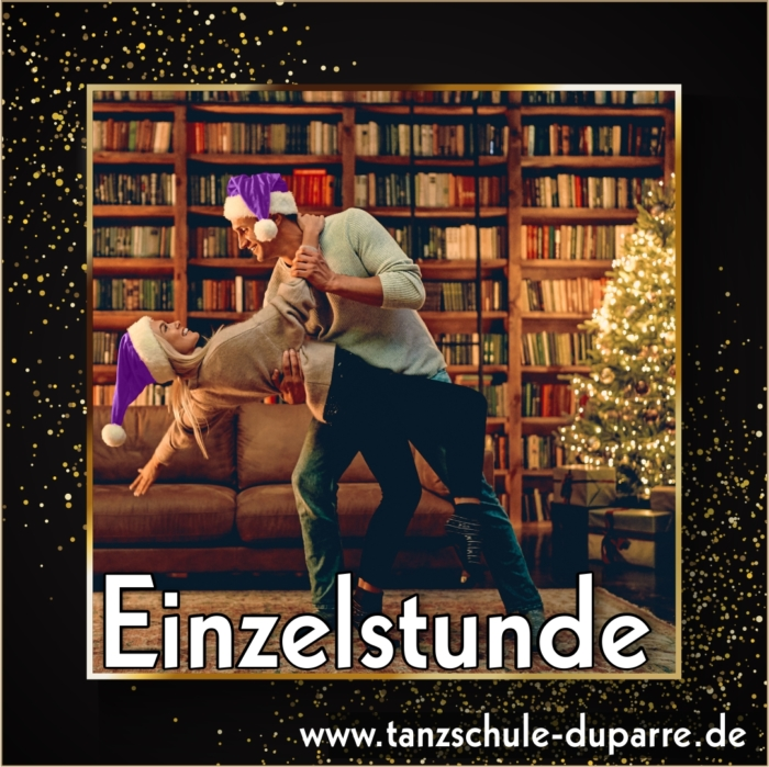 Gutschein für eine Einzelstunde in der Tanzschule Duparre in Gotha als passendes Weihnachtsgeschenk