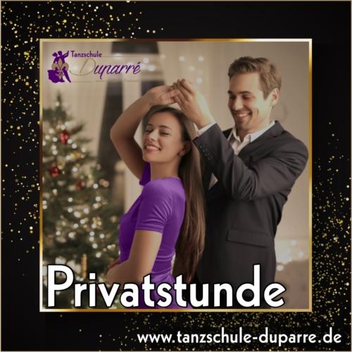 Gutschein für eine Privatstunde in der Tanzschule Duparre in Gotha ist das perfekte Weihnachtsgeschenk