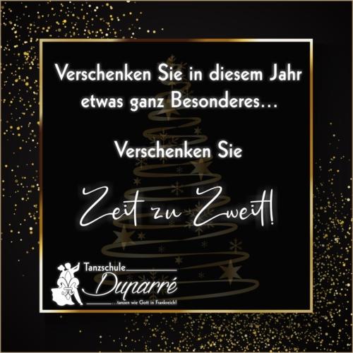Ein Gutschein zu Weihnachten ist das perfekte Weihnachtsgeschenk in Gotha