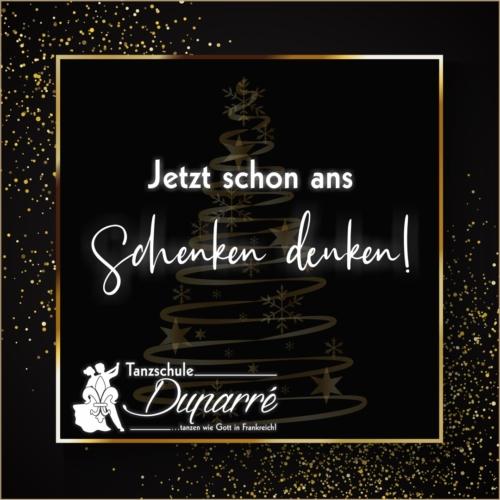 Weihnachtsgeschenke in Gotha in der Tanzschule Duparre